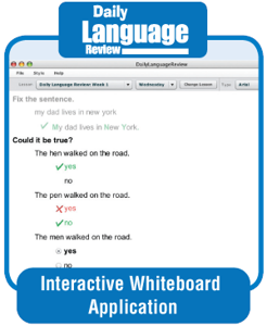 Picture of Daily Language Review, Grade 6 - Courseware Classroom License