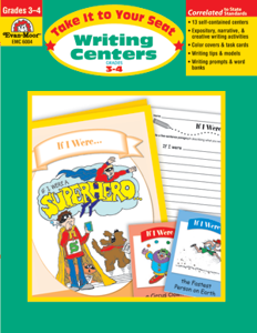 Picture of Take It To Your Seat: Writing Centers, Grades 3-4 - Teacher Resource, Print