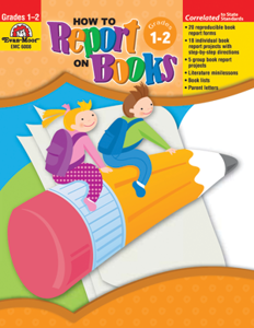 Picture of How to Report on Books, Grades 1-2 - Teacher Resource, Print