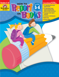 Picture of How to Report on Books, Grades 5-6 - Teacher Resource, Print
