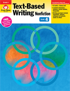 Picture of Text-Based Writing, Grade 4 - Teacher's Edition, Print