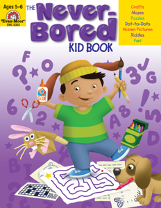 Picture of The Never-Bored Kid Book, Grades K-1 - Activity Book