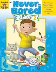 Picture of The Never-Bored Kid Book 2, Grades PreK-K - Activity Book