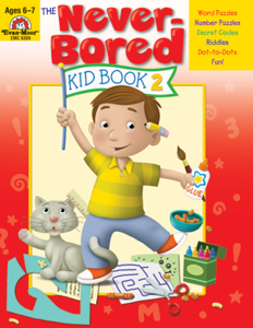 Picture of The Never Bored Kid Book 2 Grades 1-2 - Activity Book