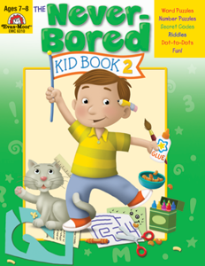 Picture of The Never-Bored Kid Book 2, Grades 2-3 - Activity Book