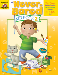 Picture of The Never-Bored Kid Book 2, Grades 3-4 - Activity Book