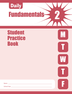 Picture of Daily Fundamentals, Grade 2 - Student Workbook (5-pack)