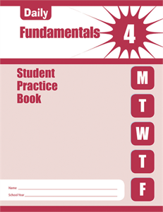 Picture of Daily Fundamentals, Grade 4 - Student Workbook (5-pack)