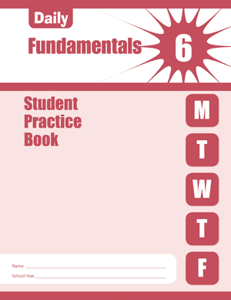 Picture of Daily Fundamentals, Grade 6 - Student Workbook (5-pack)