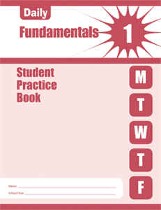 Picture of Daily Fundamentals, Grade 1 - Student Workbook