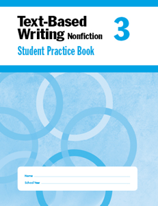 Picture of Text-Based Writing, Grade 3 - Student Workbook