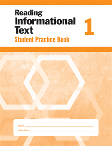 Picture of Reading Informational Text, Grade 1 - Student Workbook (5-pack)