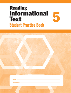 Picture of Reading Informational Text, Grade 5 - Student Workbook (5-pack)