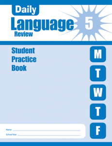 Picture of Daily Language Review, Grade 5 - Student Workbook (5-pack)