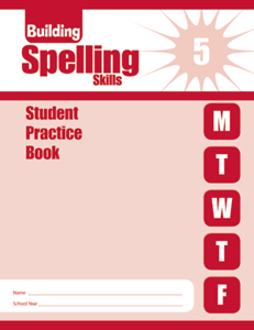 Picture of Building Spelling Skills, Grade 5 - Student Workbook (5-pack)