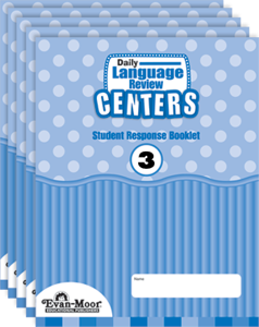 Picture of Daily Language Review Centers, Grade 3 - Student Response Booklet (5-Pack)