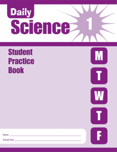 Picture of Daily Science, Grade 1 - Student Workbook (5-pack)
