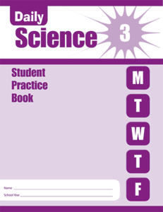 Picture of Daily Science, Grade 3 - Student Workbook (5-pack)