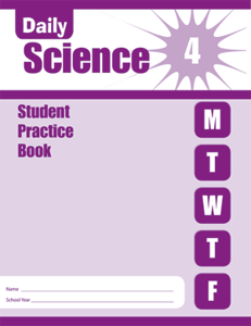 Picture of Daily Science, Grade 4 - Student Workbook (5-pack)