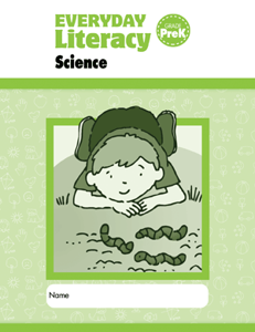 Picture of Everyday Literacy: Science, Grade PreK - Student Workbook (5-pack)