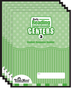 Picture of Daily Reading Comprehension Centers, Grade 3 - Student Response Booklet
