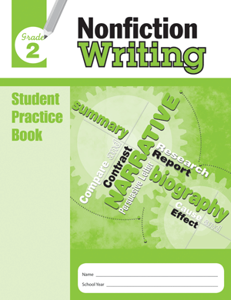 Picture of Nonfiction Writing, Grade 2 - Student Workbook