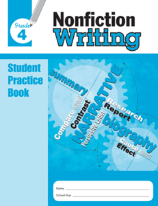 Picture of Nonfiction Writing, Grade 4 - Student Workbook