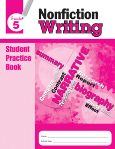Picture of Nonfiction Writing, Grade 5 - Student Workbook