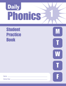 Picture of Daily Phonics, Grade 1 - Student Workbook (5-pack)