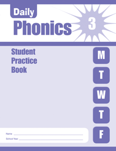 Picture of Daily Phonics, Grade 3 - Student Workbook (5-pack)