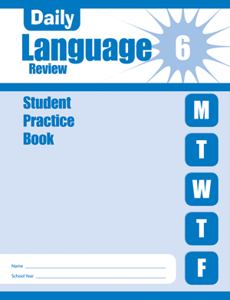 Picture of Daily Language Review, Grade 6 - Student Workbook