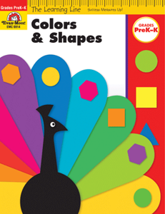 Picture of Learning Line: Colors and Shapes, Grades PreK-K - Activity Book