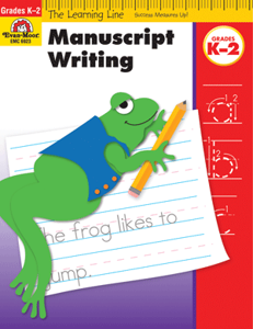 Picture of Learning Line: Manuscript Writing, Grades K-2 - Activity Book