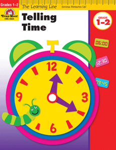 Picture of Learning Line: Telling Time, Grades 1-2 - Activity Book