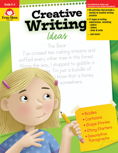 Creative Writing Ideas, Grades 2-4 - Teacher Reproducibles, E-book