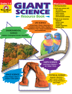 Giant Science Resource Book, Grades 1-6 - Teacher Resource, E-book