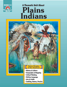 Native Peoples of the Americas, Plains Indians - Teacher Reproducibles, Print: E-book