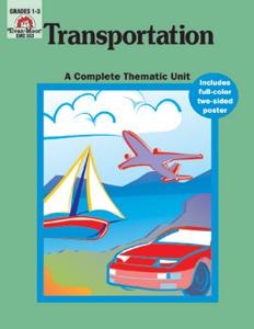 Complete Thematic Units, Transportation - Teacher Reproducibles, E-book