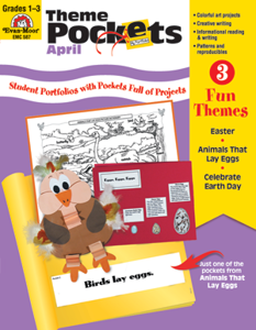 Theme Pockets, April, Grades 1-3 – Teacher Resource, E-book