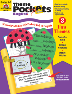 Theme Pockets, August, Grades 1-3 – Teacher Resource, E-book