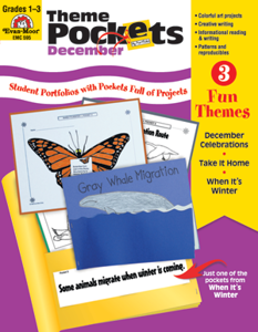 Theme Pockets, December, Grades 1-3 – Teacher Resource, E-book