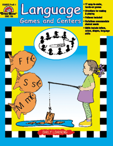 Reading Readiness Essentials, Language Games and Centers - Teacher Reproducibles, Print: E-book
