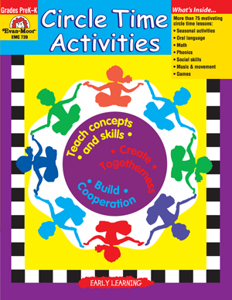 Circle Time Activities, Grades PreK-K - Teacher Reproducibles, E-book