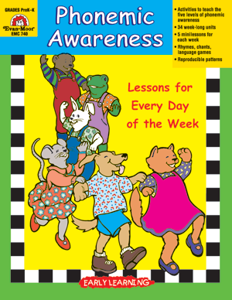 Phonemic Awareness Through Language Play, Grades PreK-1 - Teacher Reproducibles, E-book