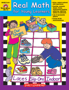 Early Learning Resources, Real Math for Young Learners - Teacher Reproducibles, Print: E-book