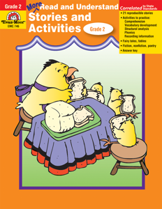 More Read and Understand: Stories and Activities, Grade 2 - Teacher Reproducibles, E-book
