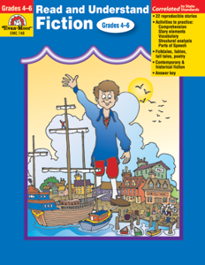 Read and Understand: Stories and Activities, Fiction, Grades 4-6 - Teacher Reproducibles, E-book