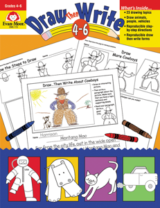 Draw…Then Write, Grades 4-6 - Teacher Reproducibles, E-book