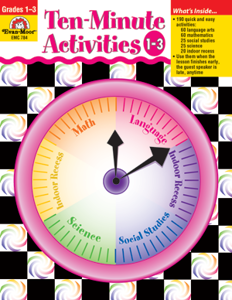 Ten-Minute Activities, Grades 1-3 - Teacher Reproducibles, E-book