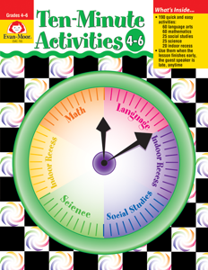 Ten-Minute Activities, Grades 4-6 - Teacher Reproducibles, E-book